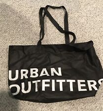 Urban Outfitters Logo Eco Friendly Shopping 🛍 Strap Handles Bag Black laundry