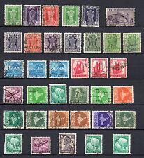 Echte ungeprüfte Briefmarken aus Asien mit Mischfrankatur-Erhaltungszustand