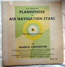 The Observer's Planisphere of Air Navigation Stars Francis Chichester 1931