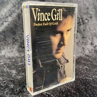 Vince Gill Pocket Full Of Gold Cassette Tape MCA 1991