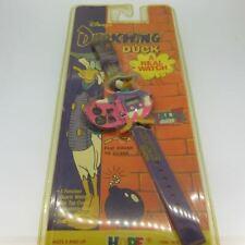 1991 Darkwing Duck Disney Quartz Watch in Sealed Original Plastic Packaging As-I