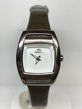 Orologio BREIL Acciaio/Pelle Lady 160€ Di Listini 23x30mm Scontatissimo nuovo