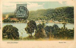 Sri Lanka (Ceylon) - Kandy, panorama - 1904