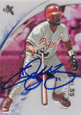 JIMMY ROLLINS PHILADELPHIA PHILLIES SIGNED BASEBALL CARD LOS ANGELES DODGERS