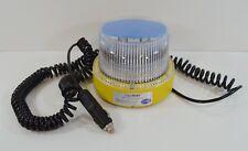 Hella LED Optiray Blue Beacon Warning Strobe Light Multi-Voltage Emergency Use