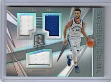 2017-18 Panini Spectra Stephen Curry 3x Jersey Patch Relic Card 47/99 WARRIORS
