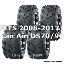 2008-2017 Can Am DS70/90 Full Set ATV tires 19x7-8 19x7x8 & 18x9.5-8 18x9.5x8