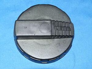 Replacement commercial fuel cap, 80mm, plastic bayonet non-locking (valve) DAF