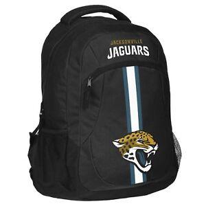 Jacksonville Jaguars Logo Action BackPack School Bag Back pack Gym Travel Book