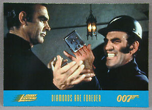 James Bond Diamonds Are Forever Collector Card #26