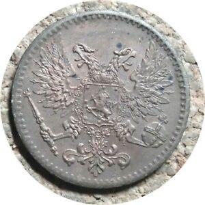 elf Finland (Kerenski Russia) 1 Penni 1917  White Russians
