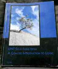 UNT Selections from a Concise Introduction to Logic