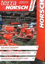terra Horsch Sonderausgabe Agritechnica 2017, Magazin