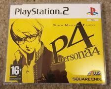 Sony Playstation 2 PS2 Game Persona 4 Shin Megami Tensei Promo Version
