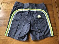 Mens Sundek Low Rise Swim Shorts Size 31 Grey/Green/Brown/Blue RRP £80