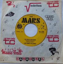 LES GANTS BLANCS (GERRY BOULET, OFFENBACH) Tu veux revenir QUEBEC GARAGE 1967 45