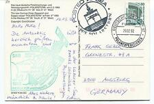 Polarstern Atkabucht Posted at Sea Polar Antarctic Cover
