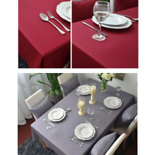 Cotton Tablecloth Rectangle Table Cloth Cover Dining Wedding Party Home Decor
