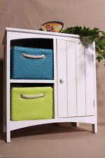 Trendiger Beistellschrank Beistelltisch Kinderschrank 2 farbige Korbschubladen S