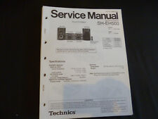Original Service Manual Technics SH-EH500