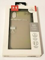 Under Armour Verge Series Case for iPhone X & iPhone XS - Clear Gray Green