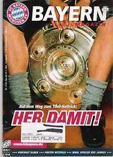 Bayern Magazin 17/52 , Bayern München - 1.FC Kaiserslautern , 12.05.2001