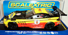 SCALEXTRIC C3294 MERCEDES SLR MCLAREN 722 GT  - DPR - WITH LIGHTS  1/32 SLOT CAR