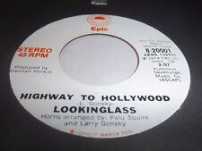 LOOKINGLASS-HIGHWAY TO HOLLYWOOD EPIC 20001 STEREO/MONO NM 45