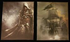 Assassins Creed 4 Black Flag  Canvas Prints x 2 From The Black Chest Edition