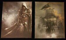 Assassins Creed 4 Black Flag stampe su tela x 2 dal petto Nero Edizione