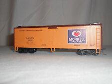 Vintage 1987 Athearn Morrell Meat Scribed Reefer #5207 Morrell Refrig Line HO