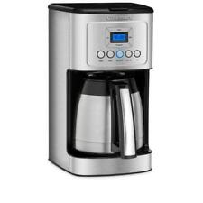 Cuisinart 12-Cup Programmable Silver Coffee Maker with Built-In Timer RP $139
