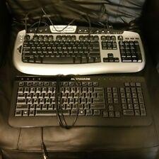 Dell Alienware keyboard and Microsoft keyboard two keyboard bundle