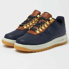c028aa8190197 NIKE LUNAR FORCE 1 DUCKBOOT LOW MEN'S SHOES [SIZE 7.5] AA1125-400 OBSIDIAN