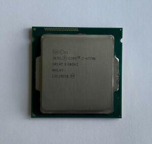 Intel Core i7-4770K (SR147) @3.50GHz, LGA1150 Quad Core Desktop Processor