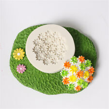 3D Flower Silicone Mold Fondant Cake Decorating Chocolate Sugarcraft Mould DIYUO