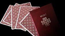 Black Mint Raspberry Edition Custom Rare Limited Playing Cards  Pro Marked Deck