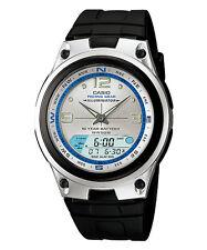 Casio da Uomo Outgear ILLUMINATORE fasi lunari Quadrante Color Argento Dual Watch AW-82 -7 AVDF