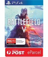 Battlefield 5 V PS4 - Brand New & Sealed (Pre-Order Now)
