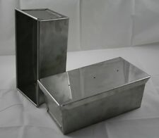 Kastenform mit Deckel, Brotbackform, VA, Edelstahl, 1,0 kg top Industriequalität
