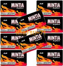MINTIA Dry Hard Dry Mint tablet Candy 10 packs Asahi Japan