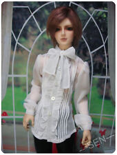 1/4 BJD MSD boy 40-44cm doll outfit gothic white shirt dollfie luts ship US
