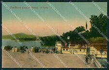 Verona Peschiera del Garda Battello RIFILATA cartolina QT4579