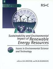 Sustainability and Environmental Impact of Renewable Energy Sources:-ExLibrary