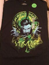 Marvel Comics DR. STRANGE Glow In The Dark Black Shirt. Brand New. Adult Sz MED