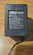 Nikko Model 1212 Battery Charger For Use With Rechargeable Batteries For Radio C