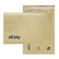 "eBay-Branded Kraft Paper Padded Airjacket  6.5"" x 9.25"""