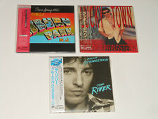 Bruce Springsteen - 4 SEALED JAPAN CDs - The River - Ashbury Park - Lucky Town