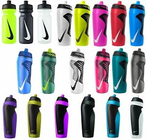 Nike Sports Hyperfuel Water Bottle Gym Running Football 18,591ml Black Red white