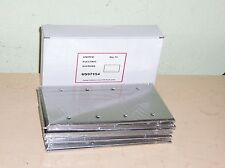 Lot Of 10 Stainless Steel 4 Gang 430 Blanks Wall Plates United Electric US97154